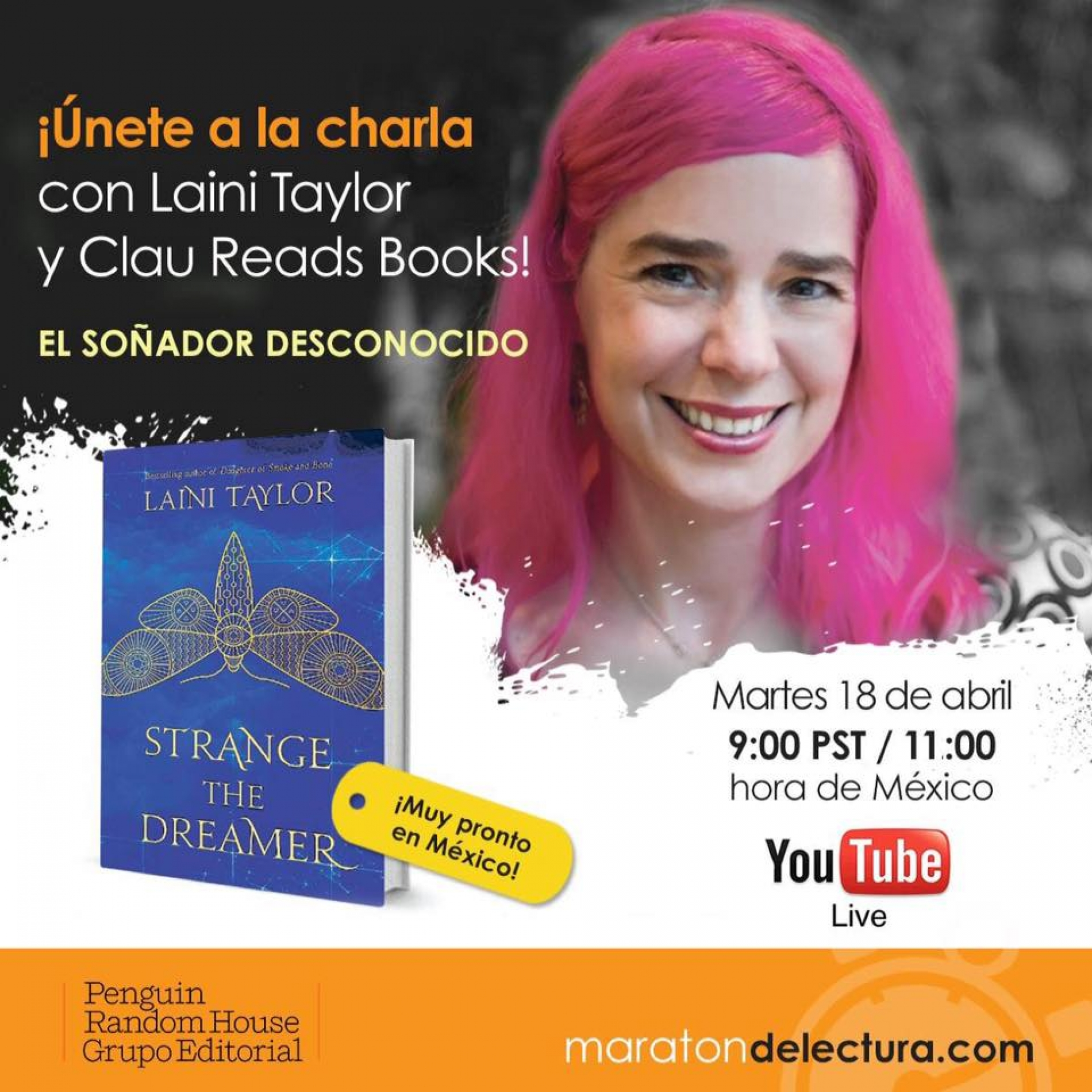 Revive el Hang Out de Laini Taylor y Clau Reads Bo