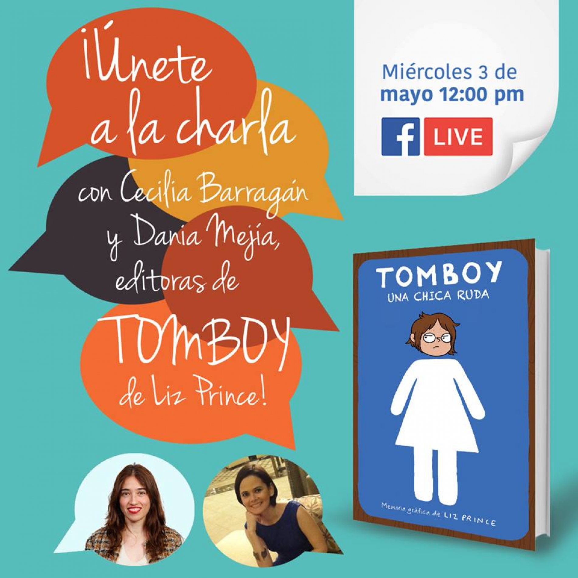 Revive el Facebook Live sobre TOMBOY